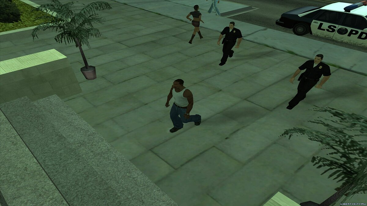 CLEO ������ After Arrest Player ��� GTA San Andreas