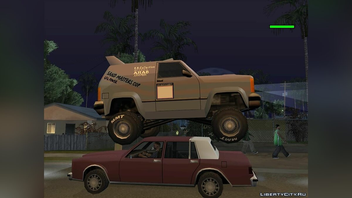 CLEO ������ ��������� Sandking Version 1.2 ��� GTA San Andreas