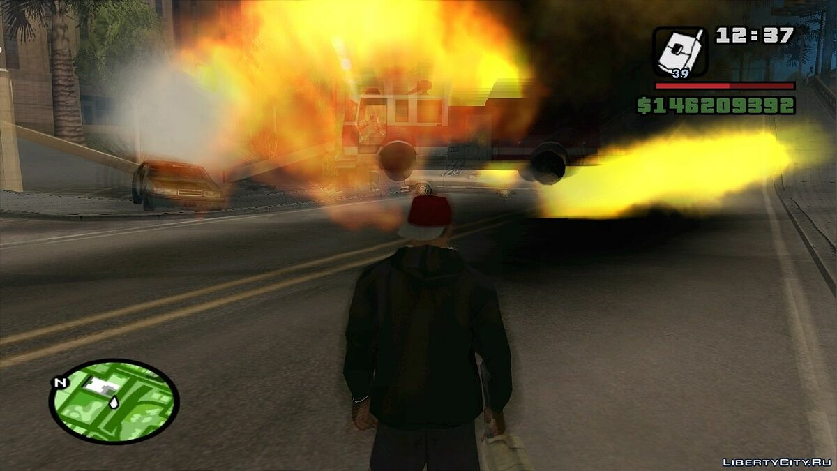 Blur On Explosions ��� GTA San Andreas
