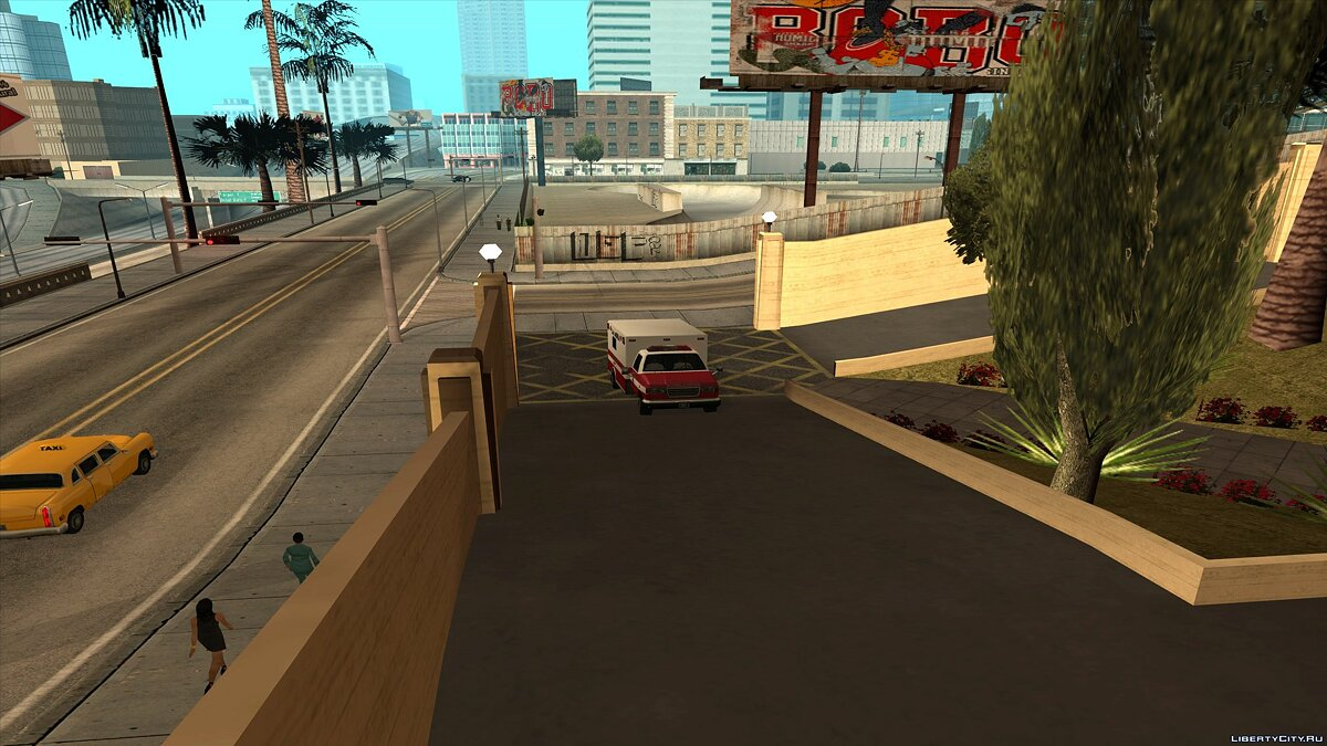 CLEO ������ After Death Player ��� GTA San Andreas