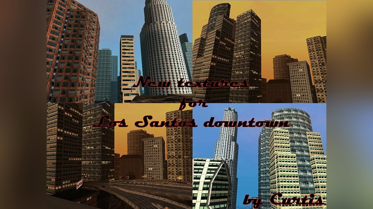 New textures for Los Santos downtown