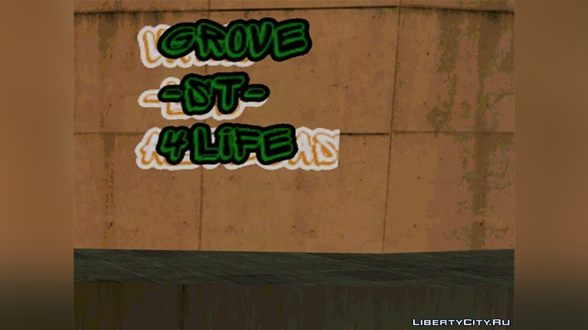 ���������� ��� New Graffiti ��� GTA San Andreas