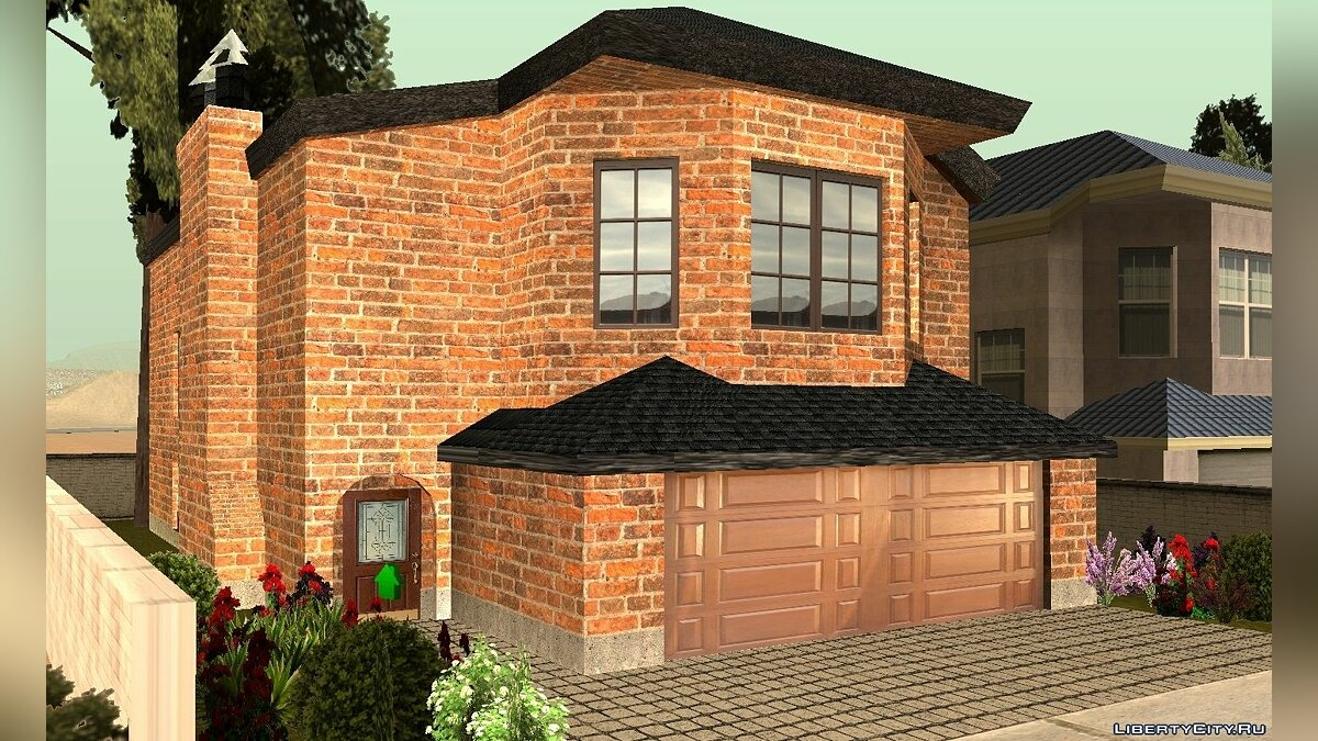 ���������� ��� CJ's New Brick House ��� GTA San Andreas