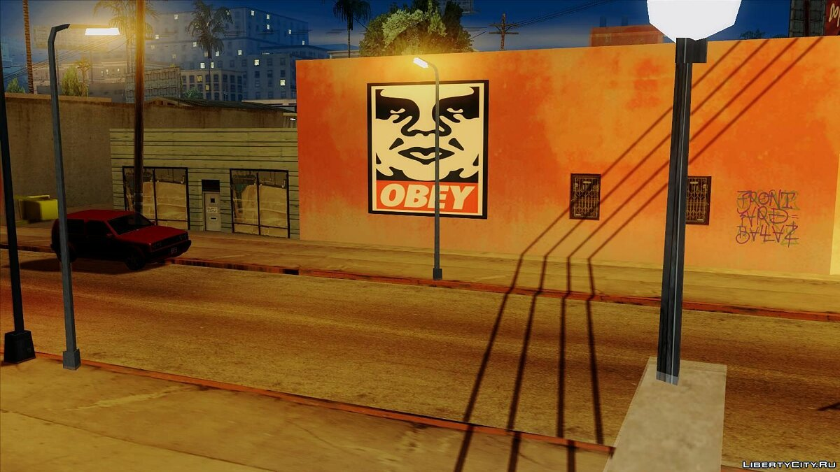 ���������� ��� OBEY Graffiti ��� GTA San Andreas