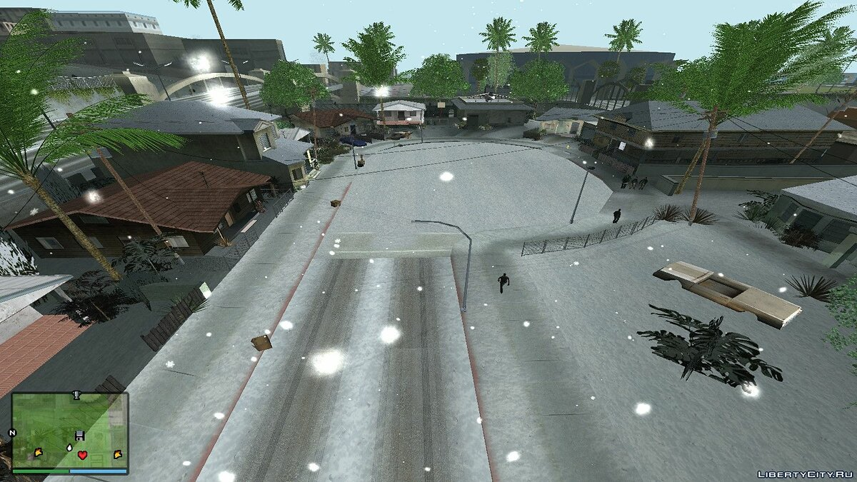 ���������� ��� Winter and HD Grove Street	  ��� GTA San Andreas