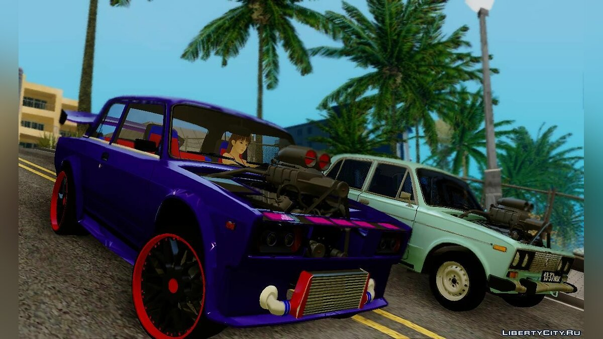 ������ ��� VAZ 2107 Tuned ��� GTA San Andreas
