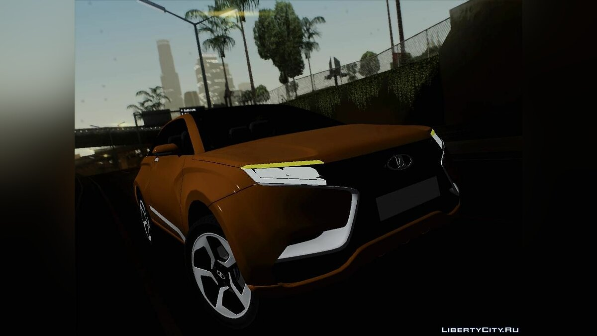 ������ ��� Lada X-Ray	   ��� GTA San Andreas