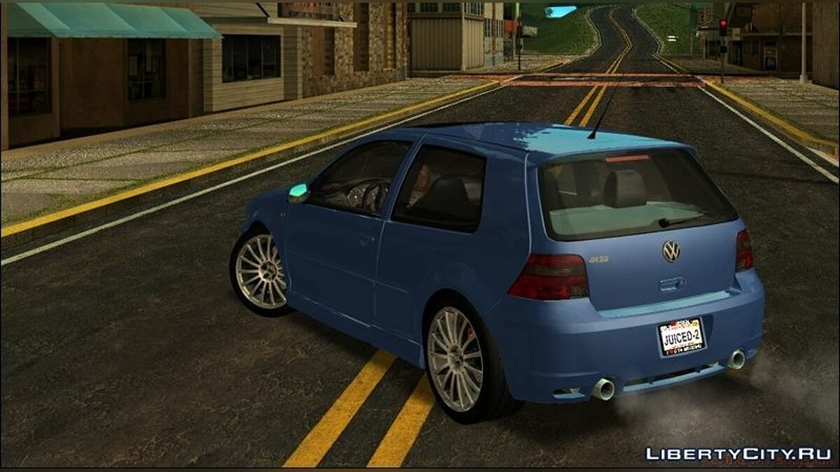 ������ Volkswagen VW GOLF R32 - Stock ��� GTA San Andreas