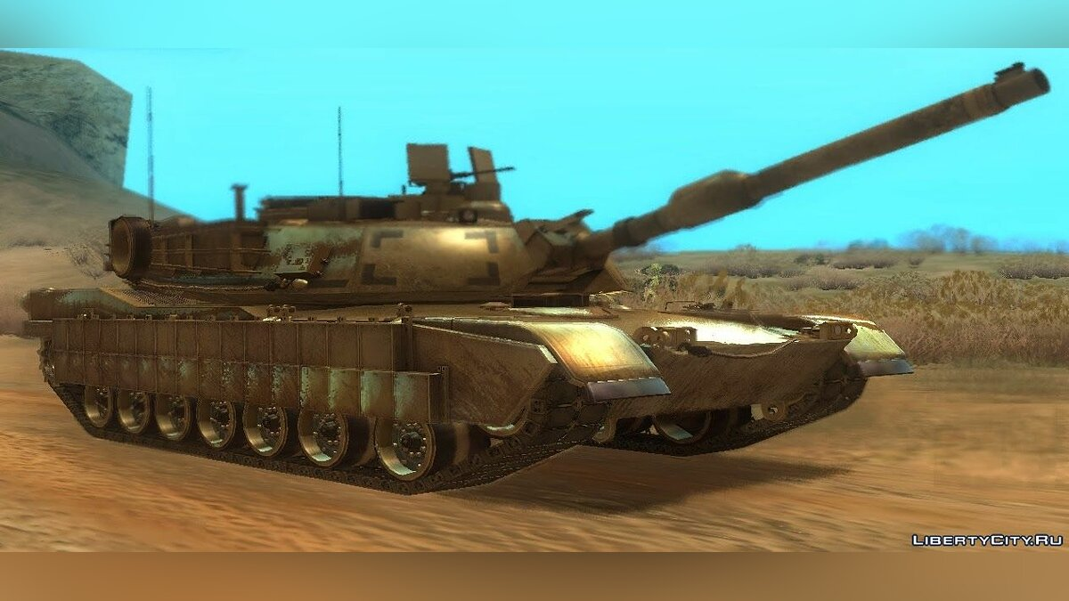 ������� ������ M1A2 Abrams from CoD: Ghosts ��� GTA San Andreas