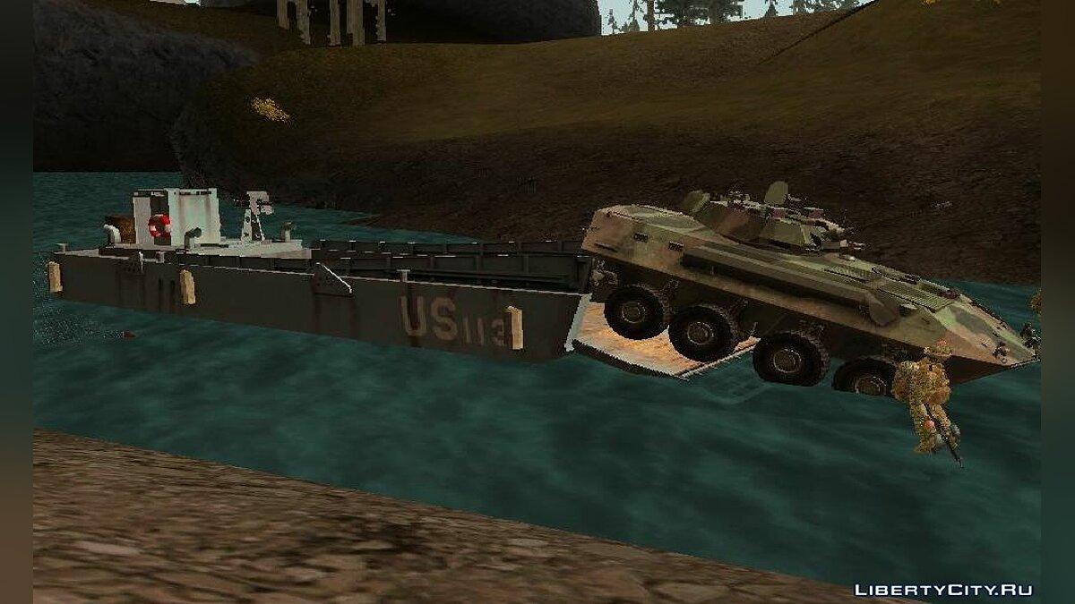 ����� � ����� Landing Craft ��� GTA San Andreas