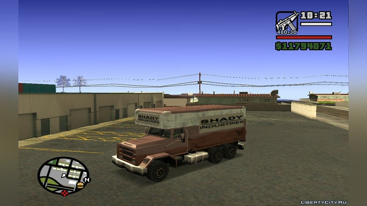 ������ New Flatbed Industrial ��� GTA San Andreas
