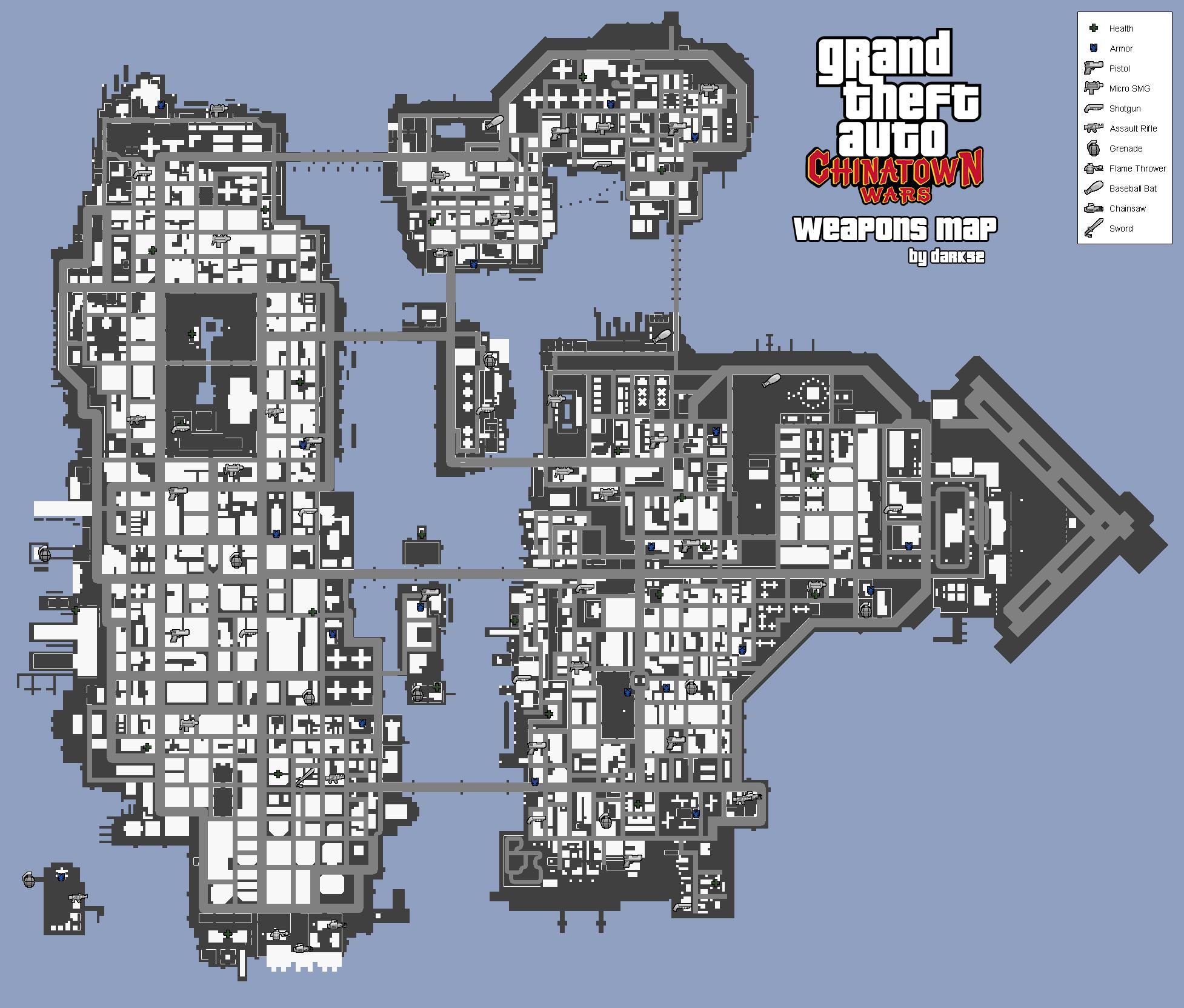 Карты GTA 4 — GTA com ua