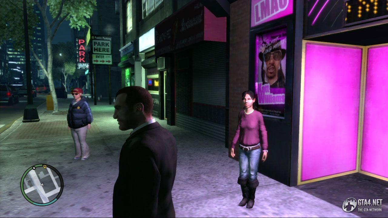 как познакомиться с девушкой в игре gta 4