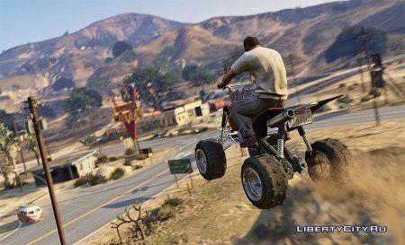 Лос-Сантос - город GTA 5