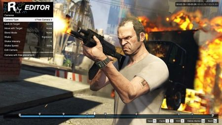 Видеоредактор Rockstar Editor