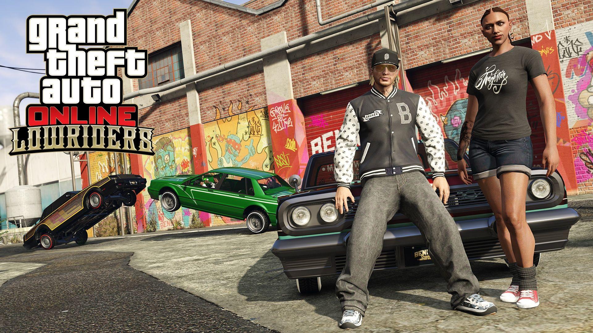 GTA Online «Лоурайдеры» — все об обновлении